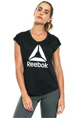 Reebok Negro / Blanco de Mujer modelo WOR GR PES LAT BL Polos Deportivo
