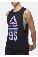 Reebok Negro de Mujer modelo 95 MARBLE MUSCLE TANK Deportivo Bividis