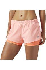 Reebok CO/SA de Mujer modelo 2-1 SHORT Deportivo Shorts