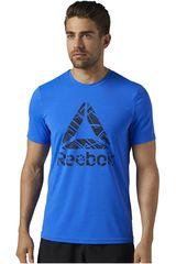 Reebok Azul de Hombre modelo WOR ACTIVCHILL SS GRPH Deportivo Polos