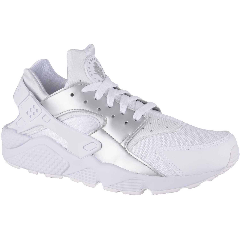 buy popular 61b3f 896e1 Zapatilla de Hombre Nike Blanco   plateado air huarache run