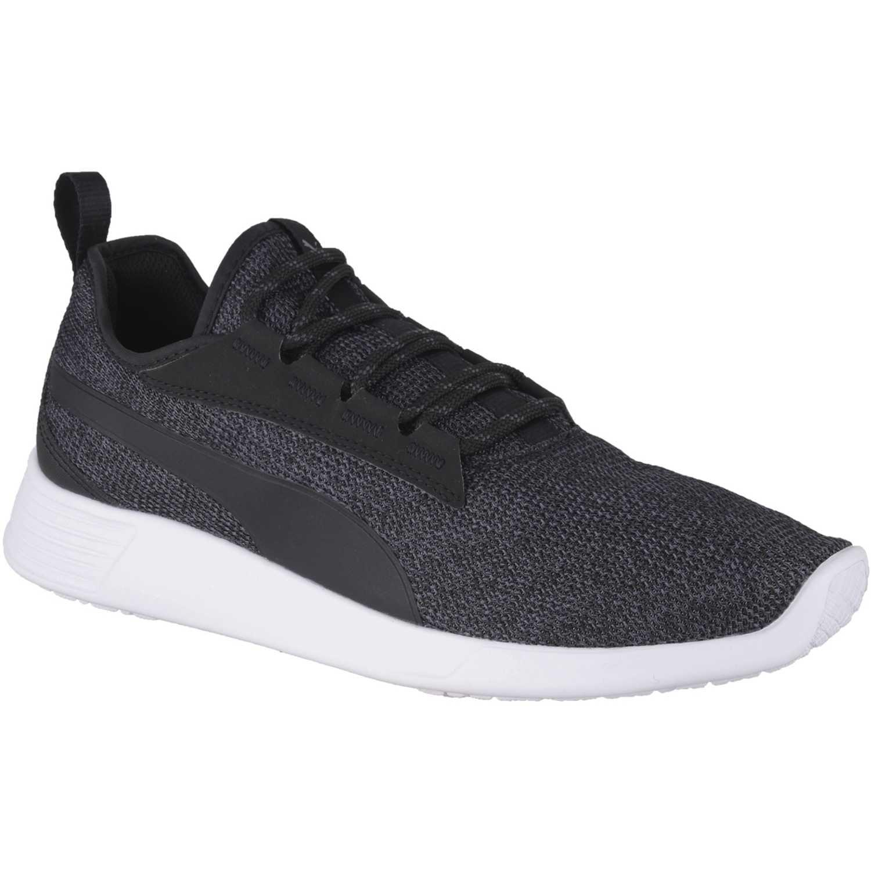 Zapatilla de Hombre Puma Negro / blanco st trainer evo v2 knit