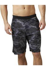 Reebok Negro /Gris de Hombre modelo SPEEDWICK CAMO KNIT SHORT Shorts Deportivo