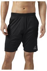 Reebok Negro de Hombre modelo SPEEDWICK KNIT SHORT Shorts Deportivo