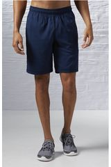 Reebok Acero de Hombre modelo EL SFT POLY SHRT Shorts Deportivo