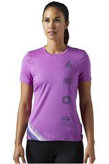 Reebok Violeta de Mujer modelo SS TEE Polos Deportivo