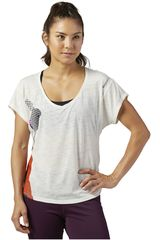 Reebok Blanco de Mujer modelo RE SS TEE Polos Deportivo