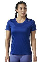 Reebok Azul de Mujer modelo RE SS TEE Polos Deportivo
