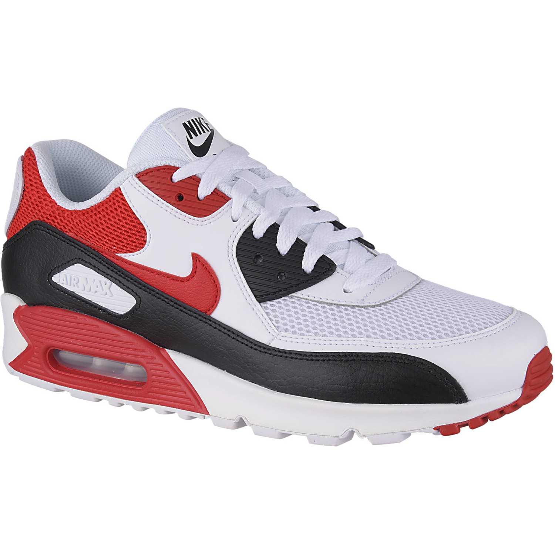 Zapatilla de Hombre Nike Blanco   Rojo air max 90 essential ... 55518d11fd0f