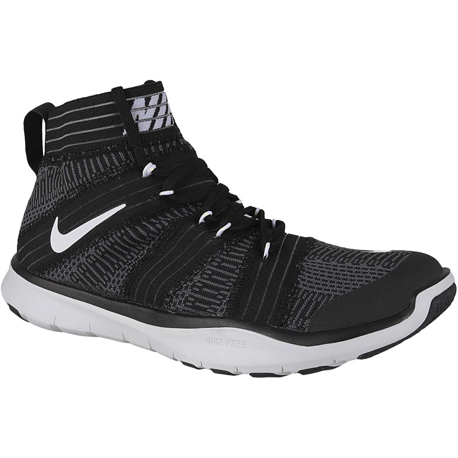 7eb13000be8c ... closeout zapatilla de hombre nike negro blanco free train virtue 188bf  e7903