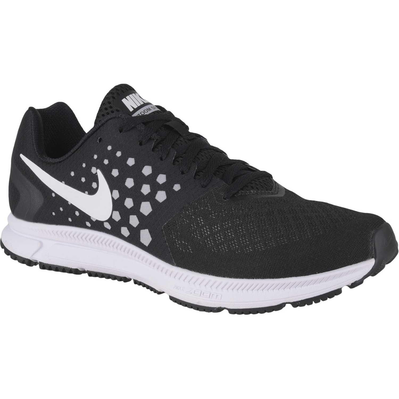f068e456a7e Zapatilla de Hombre Nike Negro   blanco zoom span