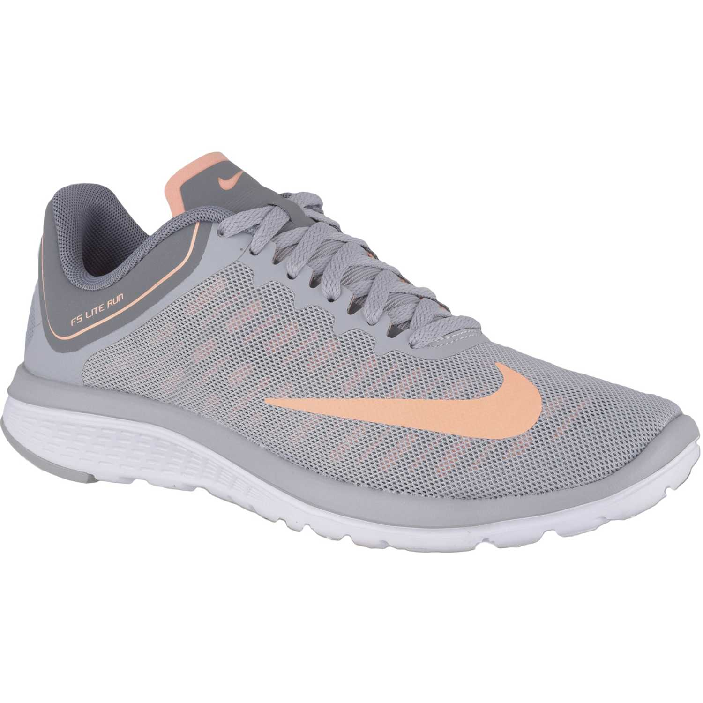 Zapatilla de Mujer Nike Gris   coral wmns fs lite run 4  dfd0af036273e
