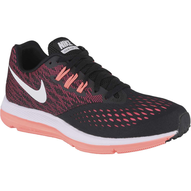 d43e506e86e Zapatilla de Mujer Nike Rojo   negro wmns zoom winflo 4