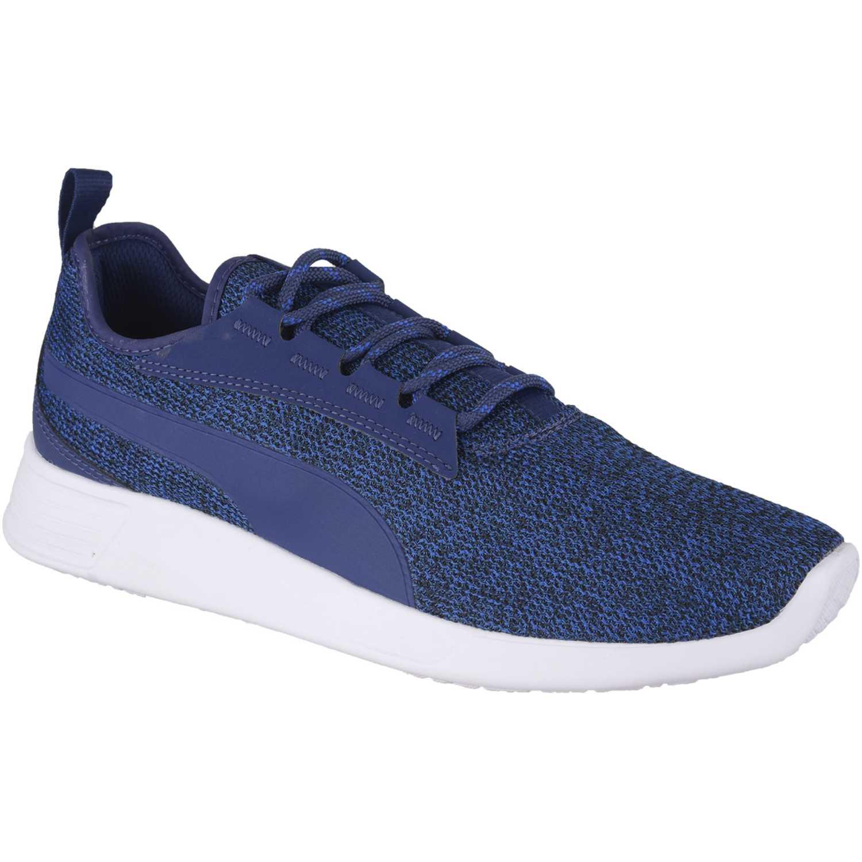 Zapatilla de Hombre Puma Azul / blanco st trainer evo v2 knit