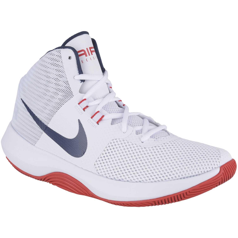 best cheap 035e0 b91a8 Zapatilla de Hombre Nike Blanco  azul air precision