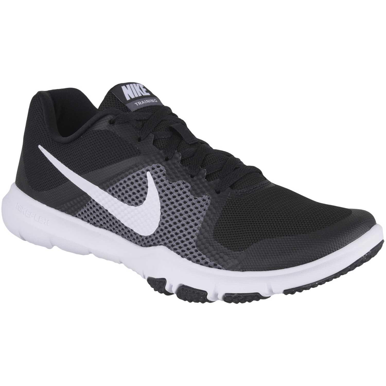 Zapatilla de Hombre Nike Negro / blanco flex control