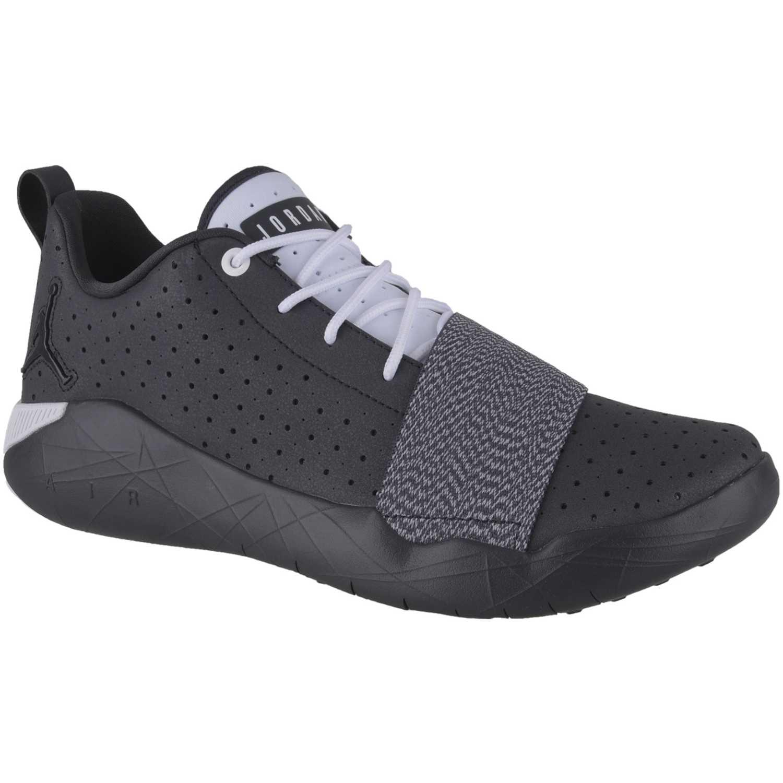 Zapatilla de Hombre Nike Negro /Gris jordan breakout