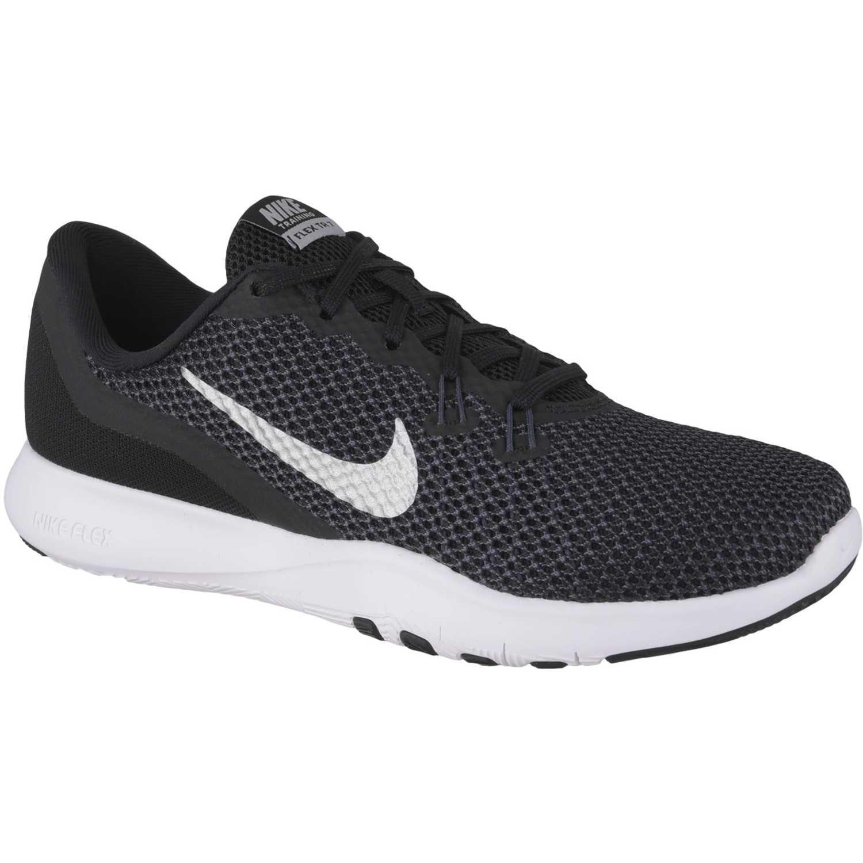 0193007b486 Zapatilla de Mujer Nike Negro   blanco wmns flex trainer 7 ...