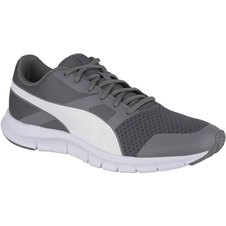 Puma - Zapatillas para hombre gris / blanco 43 RfrpATy