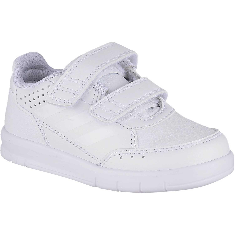 Zapatilla de Niño Adidas Blanco altasport cf i