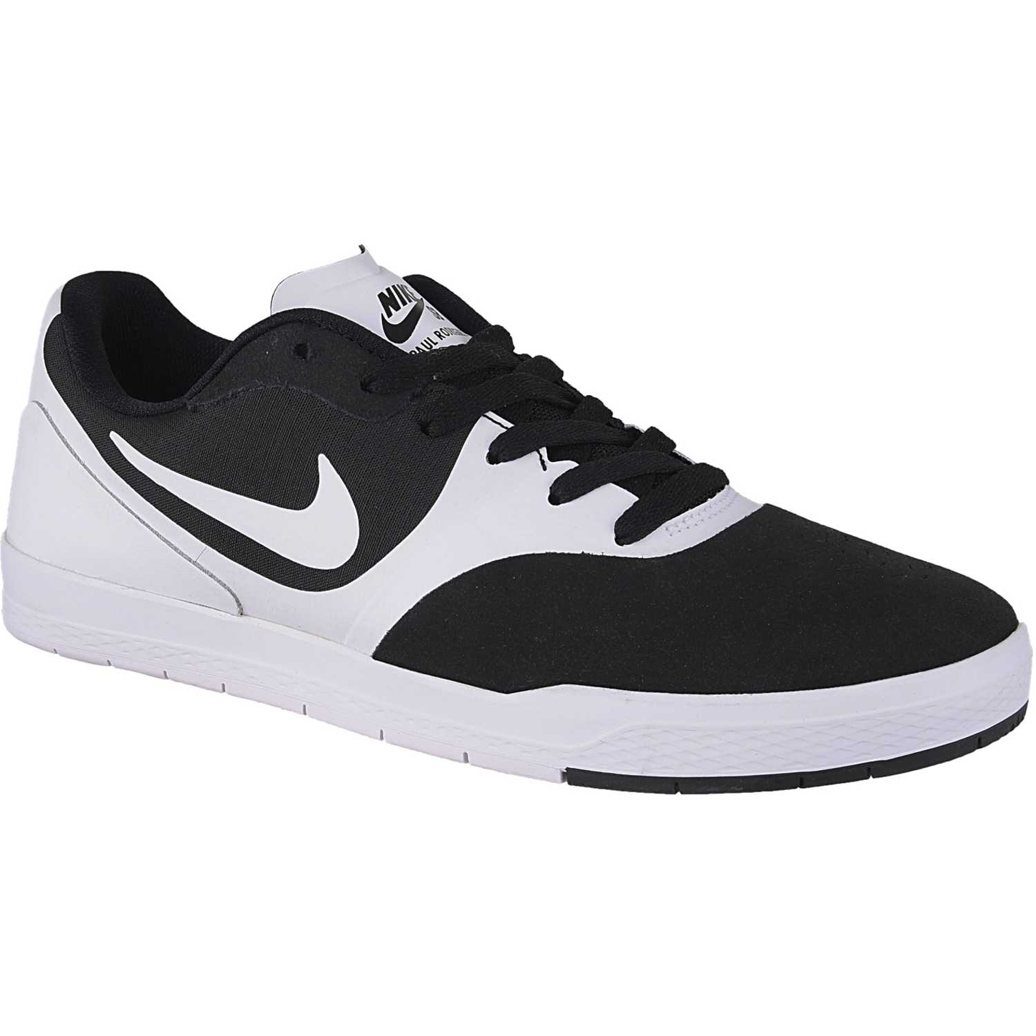 huge selection of 236e0 e5e01 ... nike blanco negro de hombre modelo paul rodriguez 9 cs casual deportivo  skate zapatillas casual