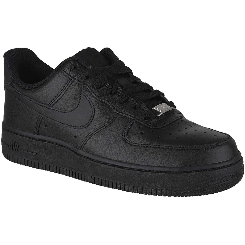 1ac208d6fd0 Zapatilla de Mujer Nike Negro   negro wmns air force 1 07 le ...