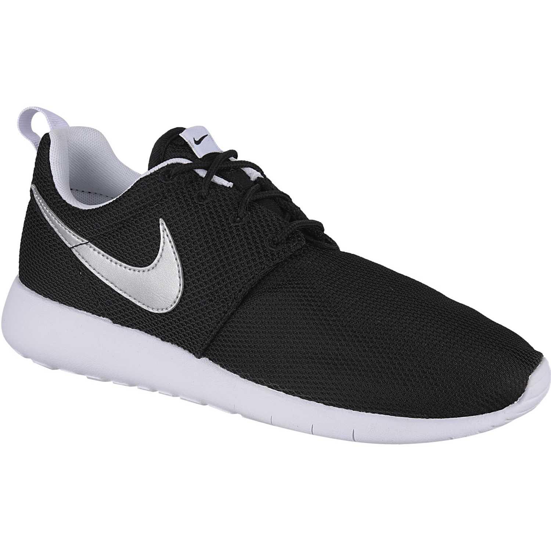 87a93fd6894 Zapatilla de Mujer Nike Negro / plateado roshe one bg   platanitos.com