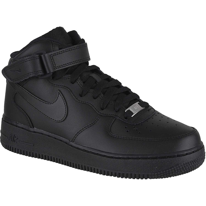 Zapatilla de Mujer Nike Negro / Negro wmns 07 air force 1 07 wmns mid 742f31