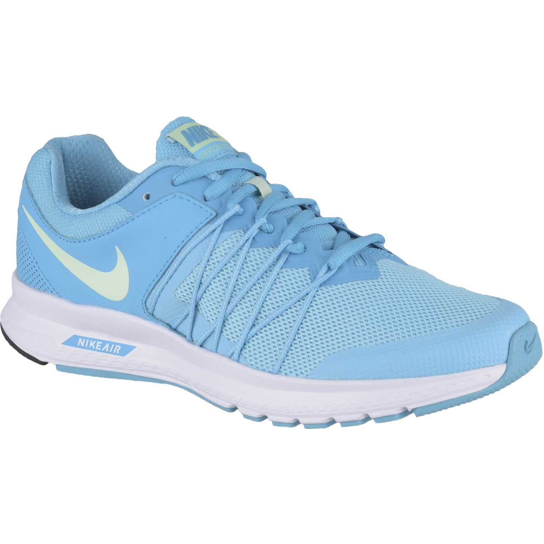 Zapatilla de Mujer Nike Celeste / blanco wmns air relentless 6
