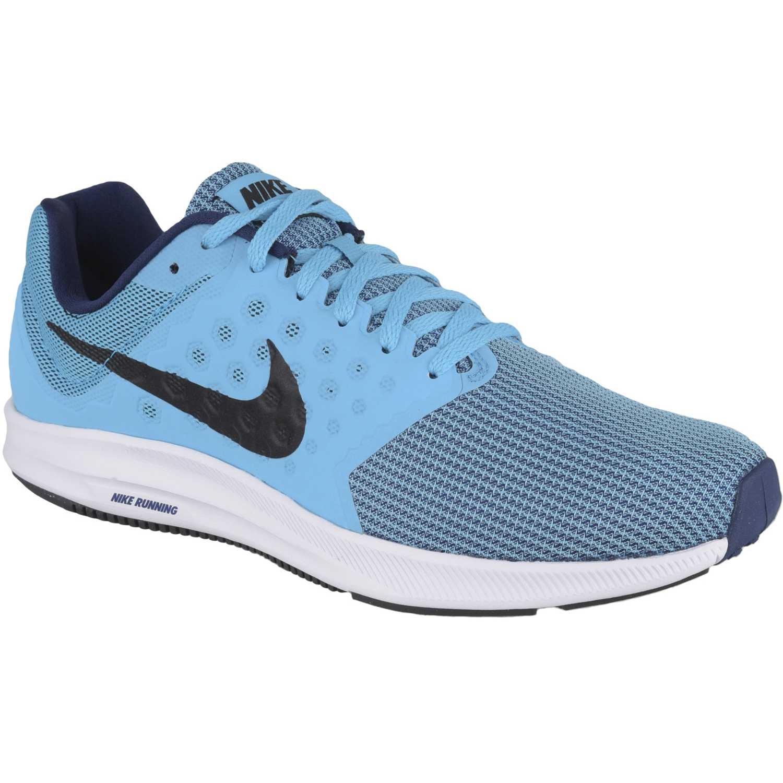 2e85721e280b3 Zapatilla de Hombre Nike Celeste   blanco downshifter 7