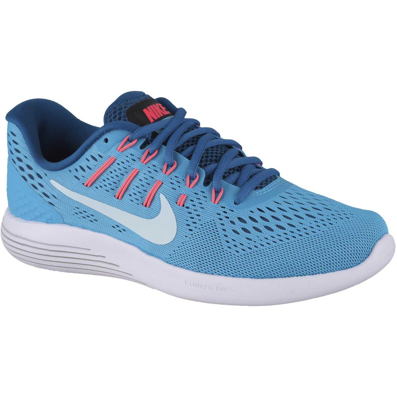 new products b6f22 76495 Zapatilla de Mujer Nike Celeste   blanco wmns lunarglide 8