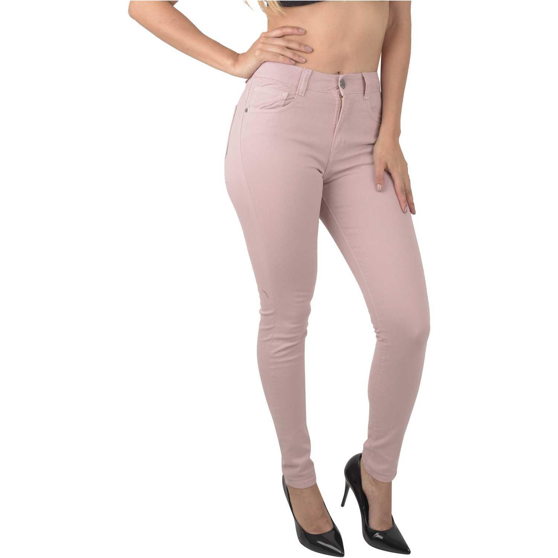 Jean de Mujer CUSTER Palo Rosa color
