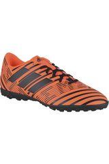 adidas Naranja / Negro de Hombre modelo NEMEZIZ 17.4 TF Deportivo Zapatillas Fútbol