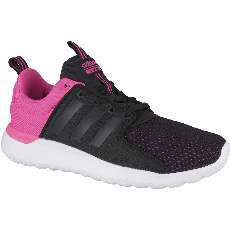 hot sale online f3457 f6957 Zapatilla de Mujer adidas NEO Negro  lila cf lite racer w