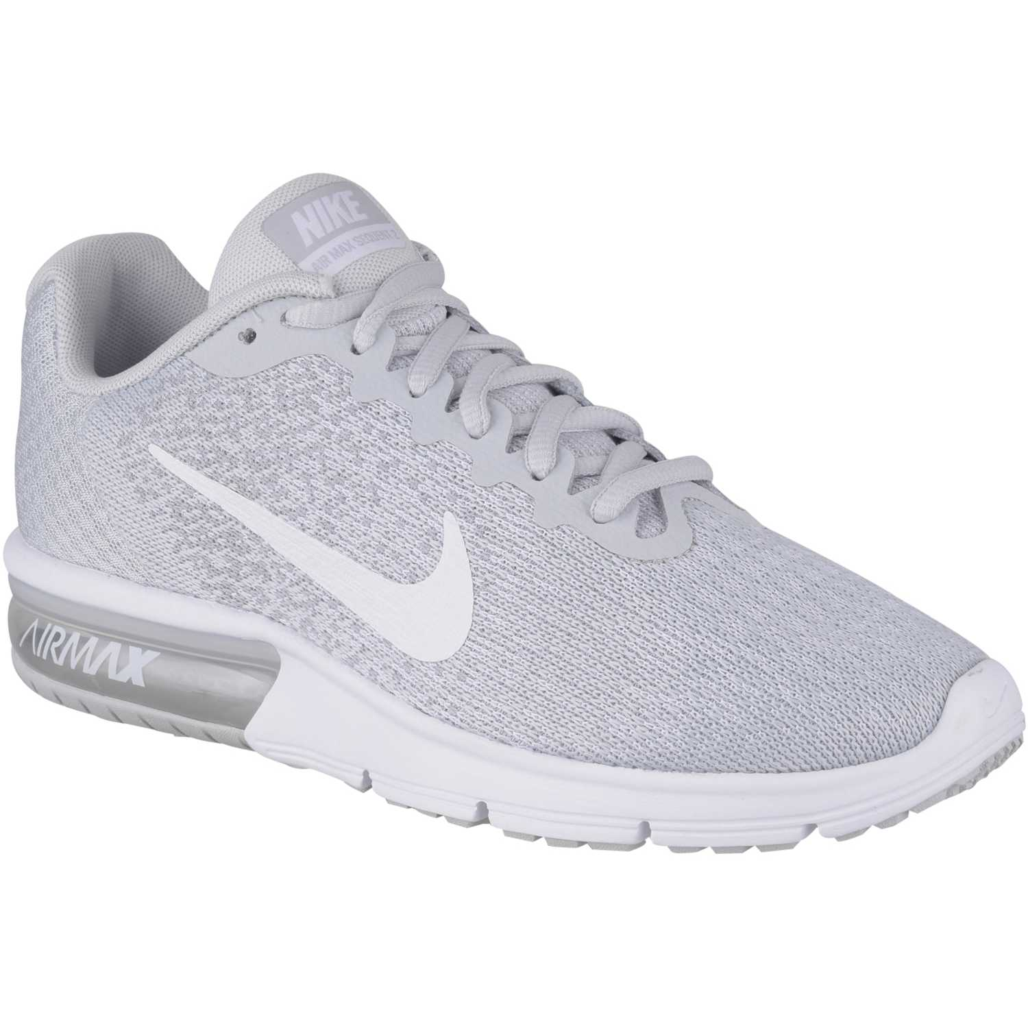 watch 2fe4a 28b67 Zapatilla de Mujer Nike Gris   blanco wmns air max sequent 2