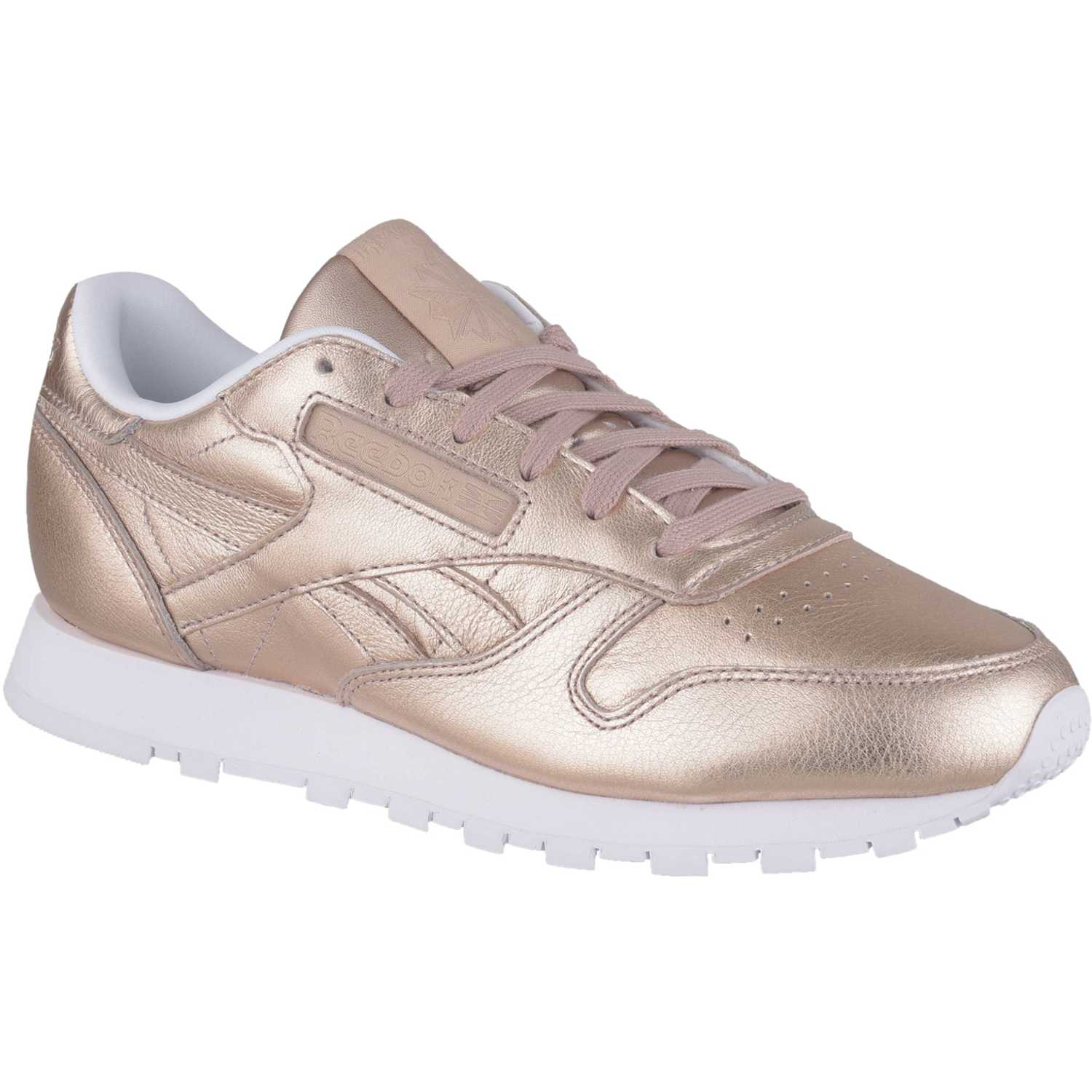 Zapatilla de Mujer Reebok Rose Gold cl leather melted metal