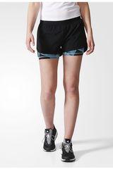 adidas Negro / Varios de Mujer modelo 2IN1 AOP SHORT Shorts Deportivo