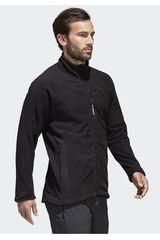 adidas Negro de Hombre modelo TIVID FL JACKET Deportivo Casacas