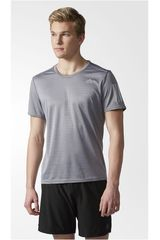 adidas Gris de Hombre modelo RS SS TEE M Polos Deportivo Camisetas