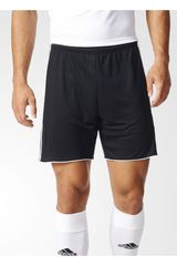 adidas Negro / Blanco de Hombre modelo TASTIGO17 SHO Shorts Deportivo