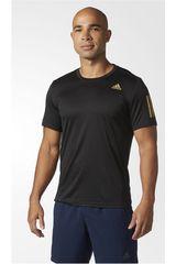 adidas Negro / Dorado de Hombre modelo RS SS TEE M Polos Deportivo Camisetas