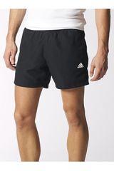 adidas Negro / Blanco de Hombre modelo ESS CHELSEA Shorts Deportivo