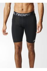 adidas Negro / Plomo de Hombre modelo TF BASE ST Shorts Pantalonetas Deportivo