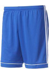 adidas Azulino / Blanco de Hombre modelo SQUAD 17 SHO Shorts Deportivo