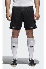 adidas Negro / Blanco de Hombre modelo SQUAD 17 SHO Shorts Deportivo