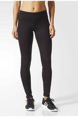 adidas Negro de Mujer modelo D2M TIG LNG PR2 Deportivo Leggins