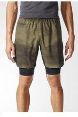 adidas Verde / Negro de Hombre modelo SPEEDBR SH 2I1G Deportivo Shorts