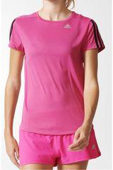 adidas Fucsia / Negro de Mujer modelo OZ TEE W Camisetas Deportivo