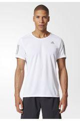 adidas Blanco / Plateado de Hombre modelo RS SS TEE M Polos Deportivo Camisetas