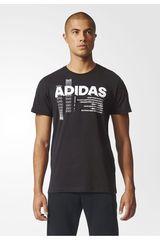 adidas Negro / Blanco de Hombre modelo LINEAGE Polos Deportivo